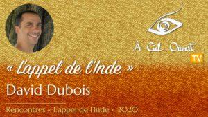 L'appel de l'Inde – David Dubois