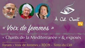 Voix de femmes – « Chants de la Méditerranée » – Stan Rougier, Rosette Poletti, Lama Wangmo