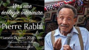 Vers une écologie intérieure – Pierre Rabhi