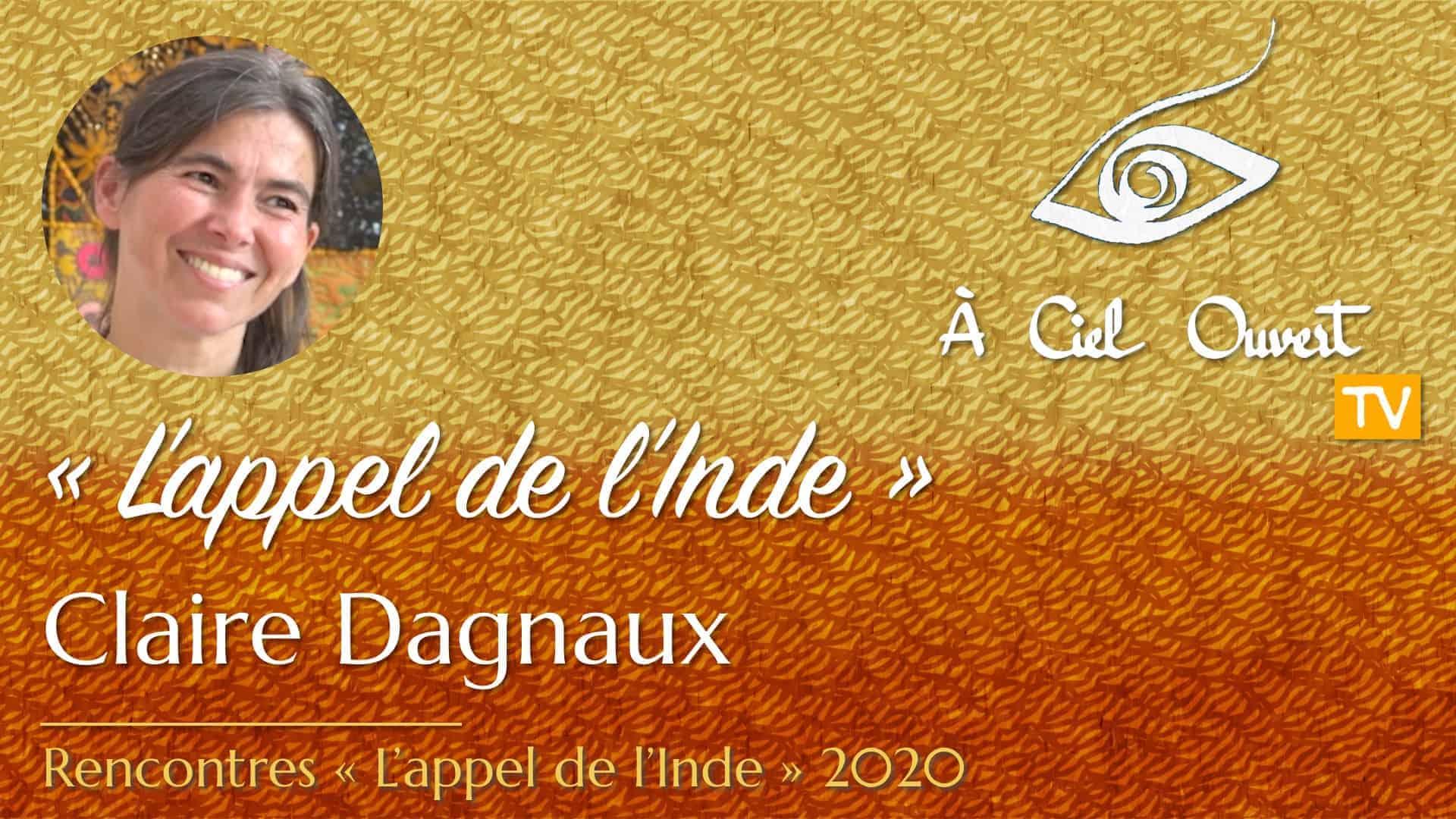 L'appel de l'Inde – Claire Dagnaux