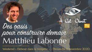 Matthieu Labonne –Des oasis pour construire demain