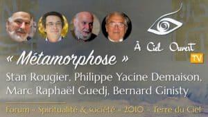 Métamorphose ou l'émergence d'une société autrement – S. Rougier, P. Y. Demaison, M.-R. Guedj, B. Ginisty
